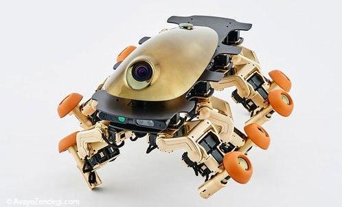 Halluc IIx، ربات 8 پایی از نسل یک فسیل