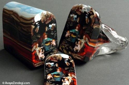 هنر فوق العاده ی برش شیشه