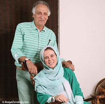 احمد نجفی و همسرش ... از اوكراین با عشق