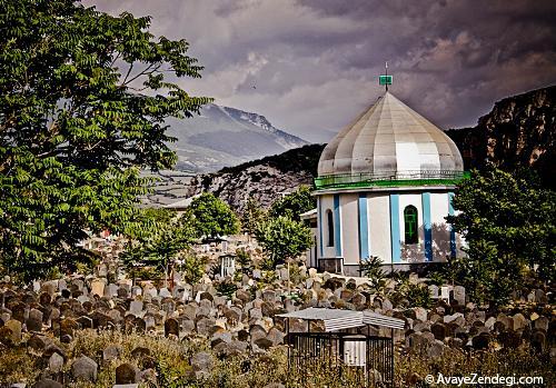 اولین قبرستان مسلمانان در ایران