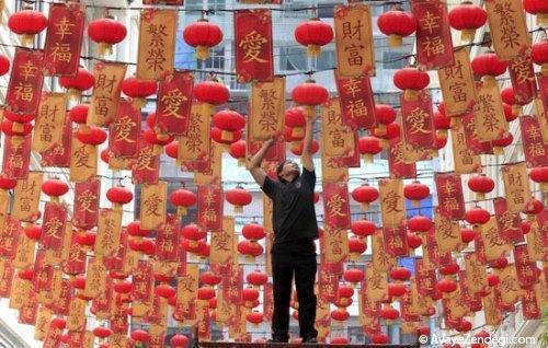 تصاویری زیبا از جشن سال نو در چین