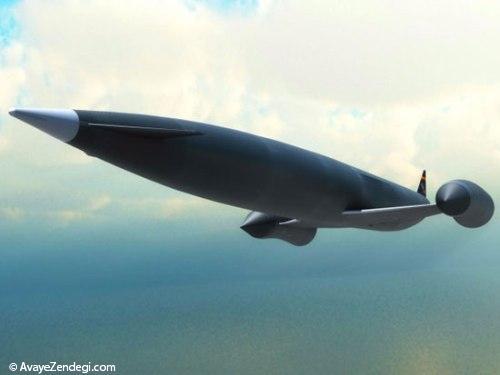 عجیب ترین طرح ها برای هواپیماها