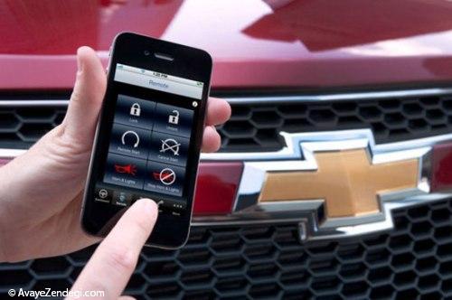 قابلیت های خودرو در نوک انگشتان شما