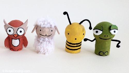 کاردستی عروسک های جیبی