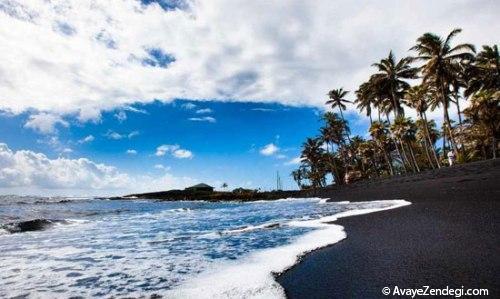 10 ساحل سیاه رنگ در دنیا