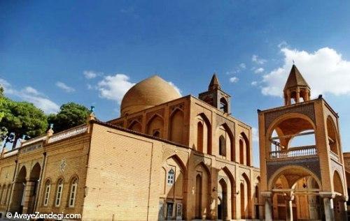 کلیسای وانک، زیباترین کلیسای جلفای اصفهان