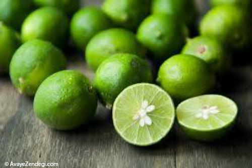 نحوه نگهداری لیمو ترش در فریزر