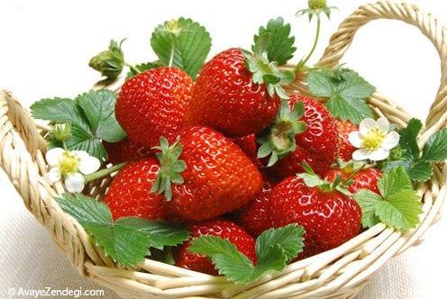 توت فرنگی میوه ممنوعه بارداری است؟