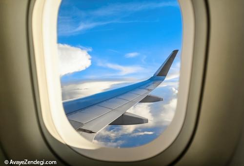 علت دایره بودن پنجره های هواپیما چیست؟