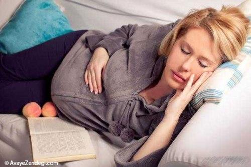 علت خروپف کردن در بارداری