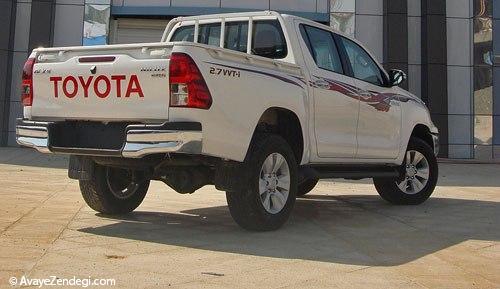 آزمایش تویوتا هایلوکس چهار چرخ متحرک مدل 2016