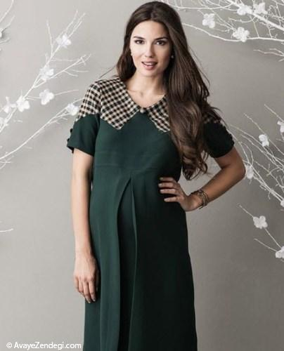 زیباترین مدلهای لباس بارداری
