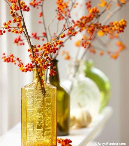 دكوراسیون پاییزی زیبا