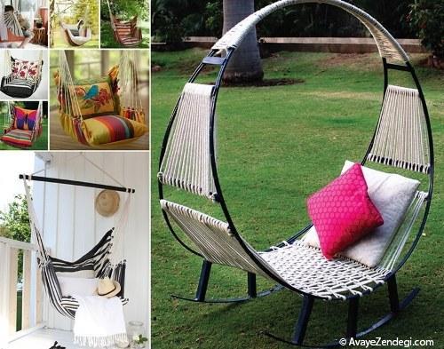 10 مدل صندلی برای فضای باز خانه