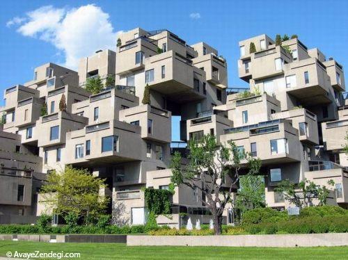 ساختمان های شگفت انگیز در جهان