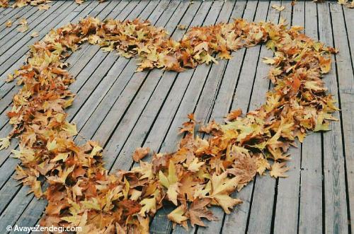 اشعار عاشقانه به رنگ پاییز