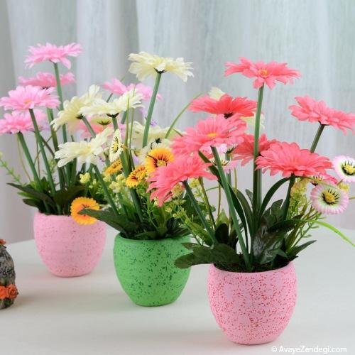 گلدان های مصنوعی مدرن