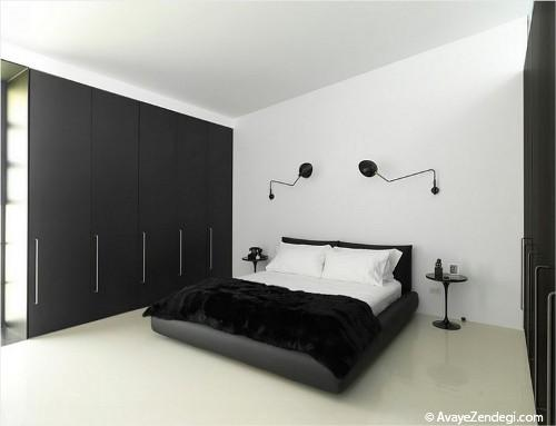 طرح هایی متنوع از لامپ های اتاق خواب