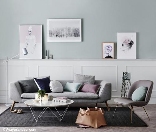 تابلوهای دیواری؛ سبک اسکاندیناوی