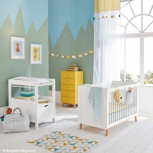 ایده های رنگارنگ برای اتاق کودک