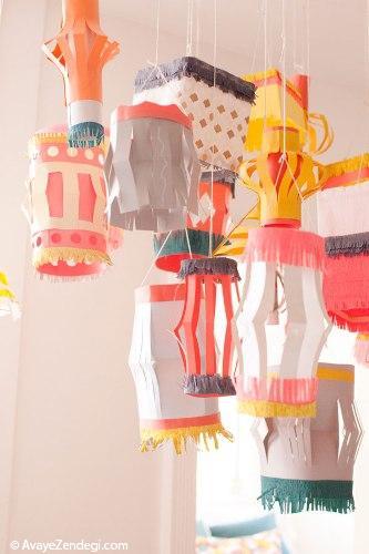 7 ایده خیره کننده برای ساخت فانوس های کاغذی