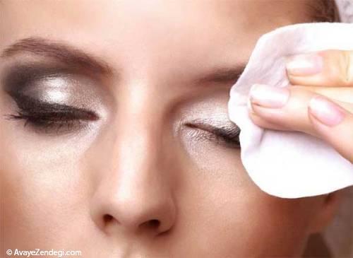 نحوه پاک کردن آرایش در طب سنتی