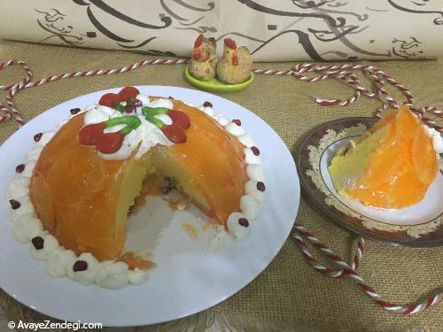 ژله سورپرایز پرتقالی
