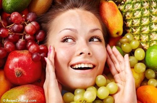 روش استفاده از خواص میوه ها بر پوست در طب سنتی